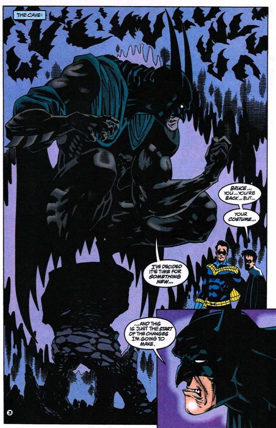Batman 515 #1 (Writer: Doug Moench, Artists: Kelley Jones, John Beatty)