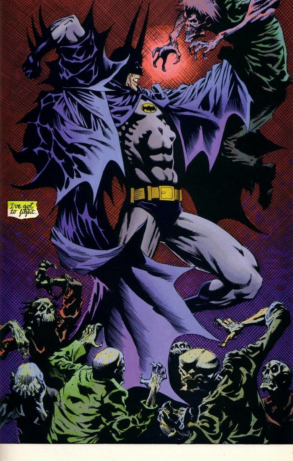 Batman & Dracula: Red Rain (Writer: Doug Moench,  Artists: Kelley Jones)