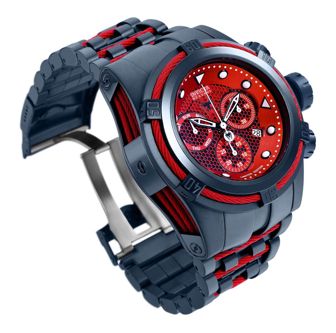 spider-man invicta watch nycc