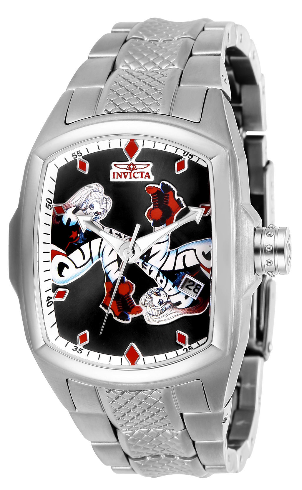 harley quinn invicta watch nycc