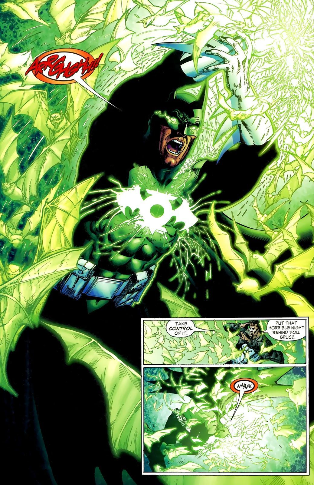 Green Lantern #9 (Writer: Geoff Johns, Artists: Ethan Van Sciver, Prentis Rollins)