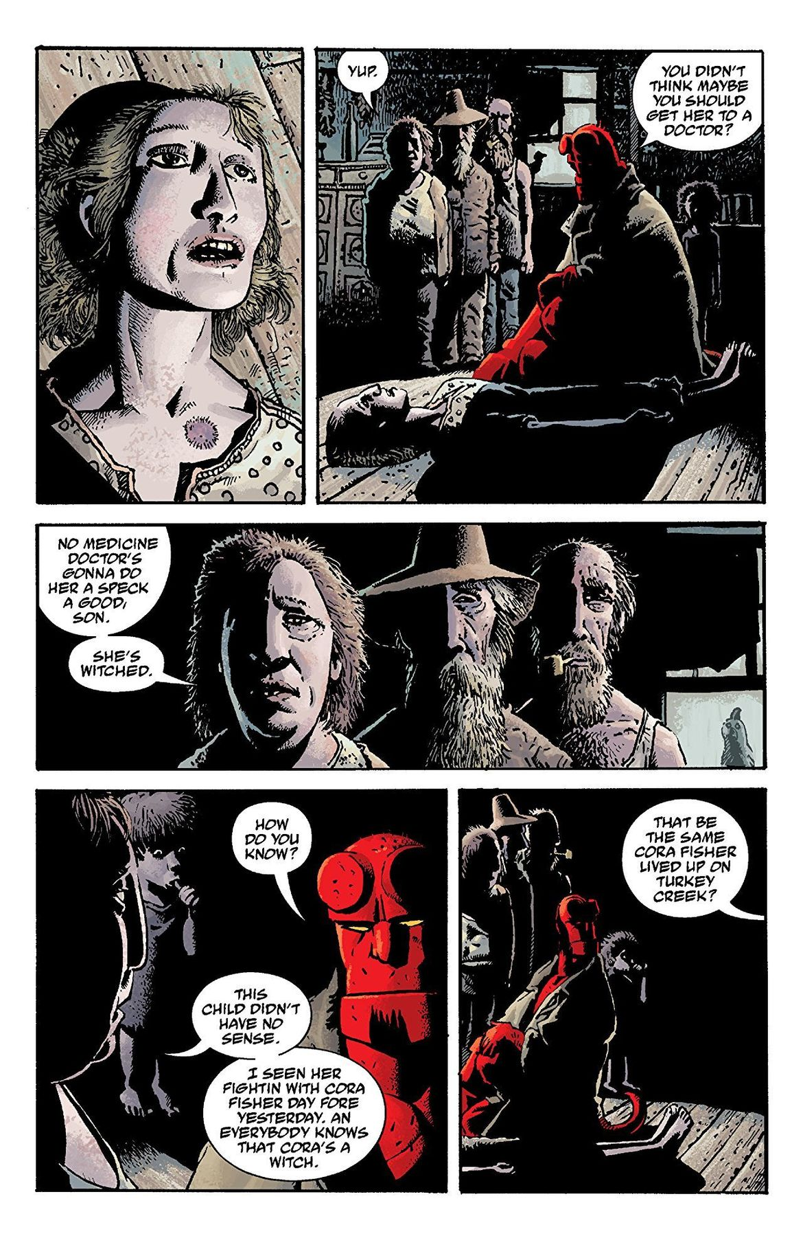 Hellboy: The Crooked Man #1 interior page