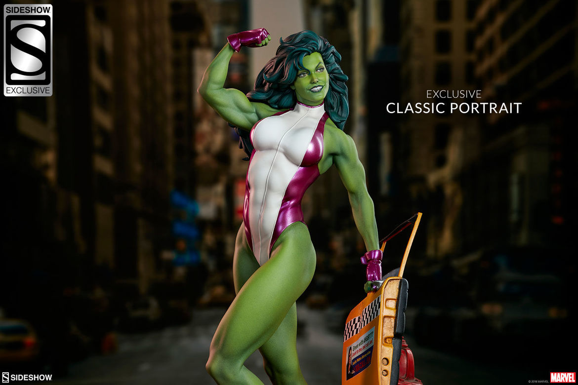 sideshow collectibles she-hulk statue