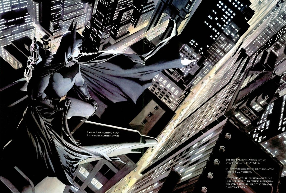 Batman: War on Crime (Writer: Paul Dini, Artists: Alex Ross)