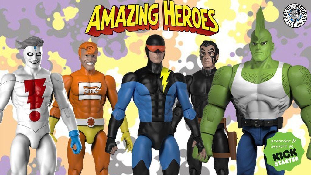 amazing heroes kickstarter