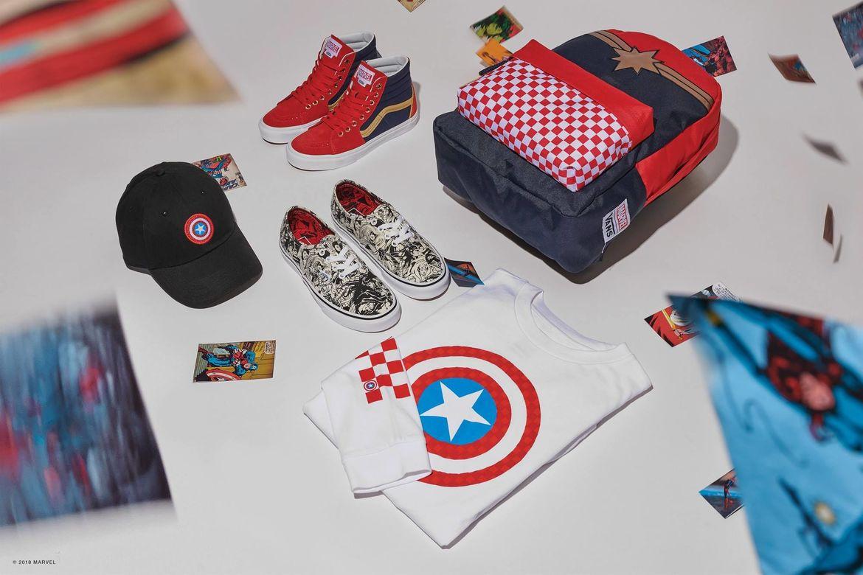 Vans x Marvel Collection