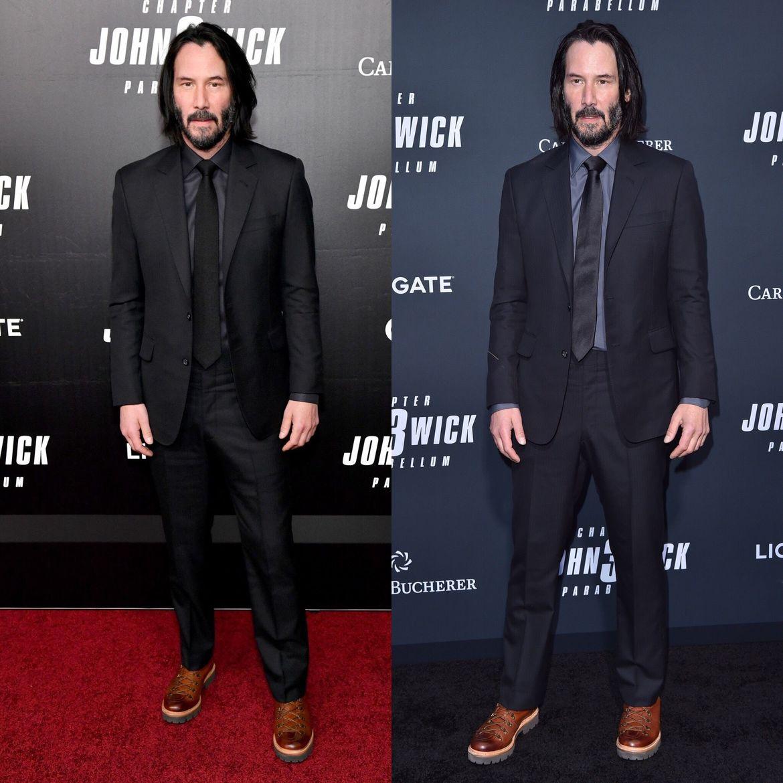 Look of the Week Keanu Reeves keeps it classic as John Wick