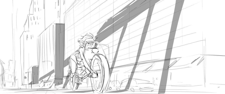 Incredibles 2 runaway train scene