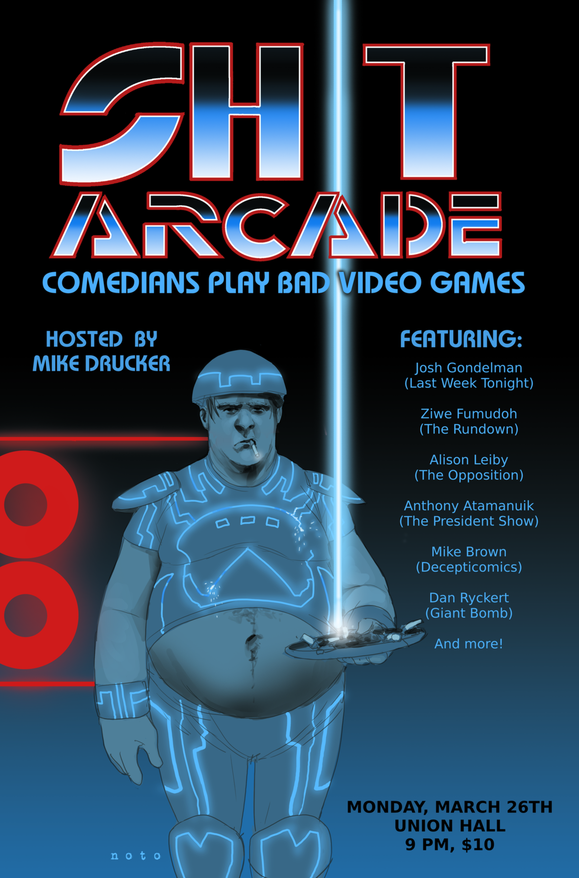 Shit Arcade Poster