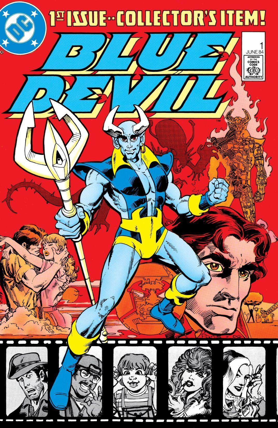 Blue Devil DC Comics Daniel Cassidy