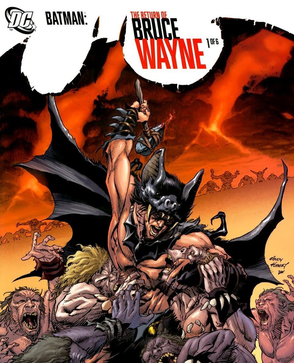 Batman: Return of Bruce Wayne (Writer: Grant Morrison, Artists: Chris Sprouse)