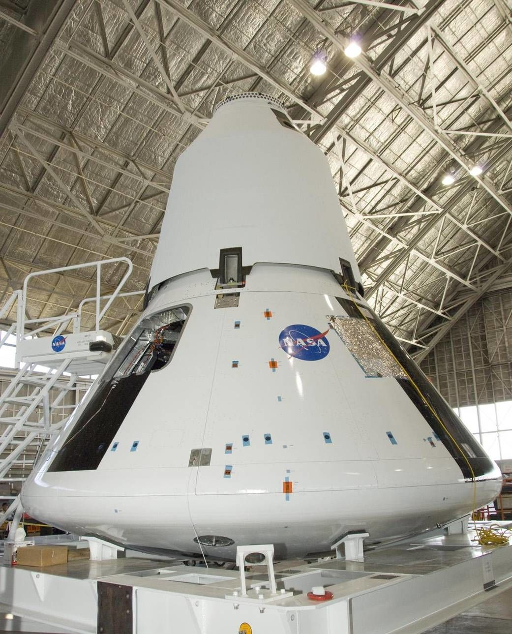 NASA image of Orion spacecraft
