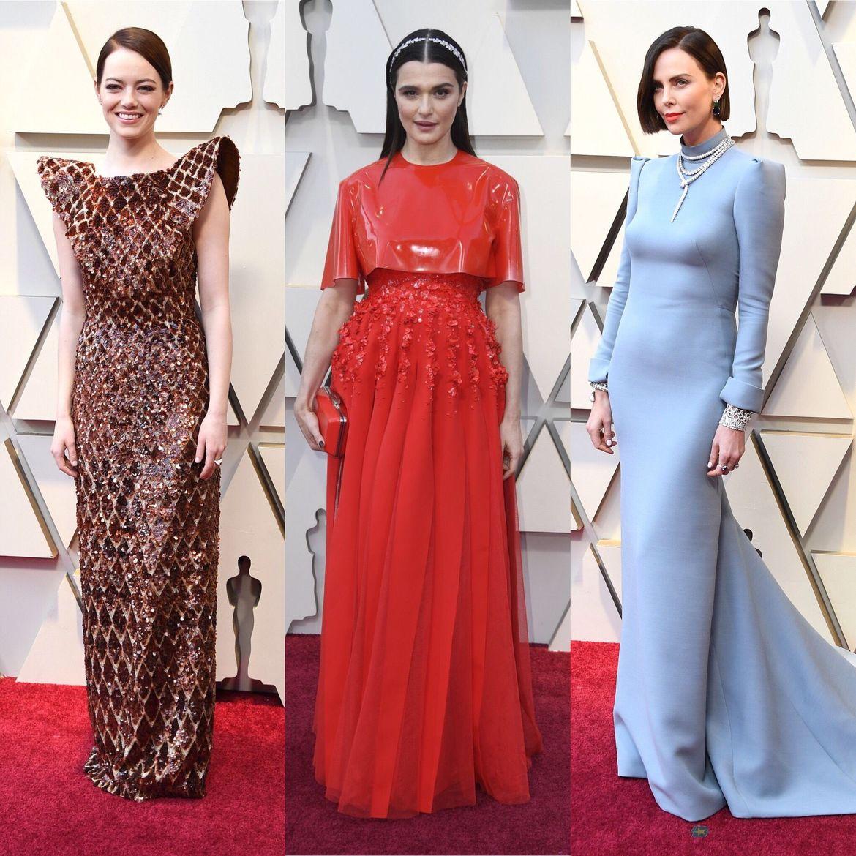 Emma Stone, Rachel Weisz, Charlize Theron