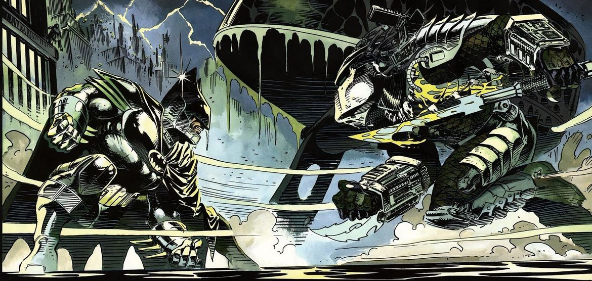 Predator vs. Batman (Writer: Dave Gibbons, Artists: Andy Kubert, Adam Kubert)