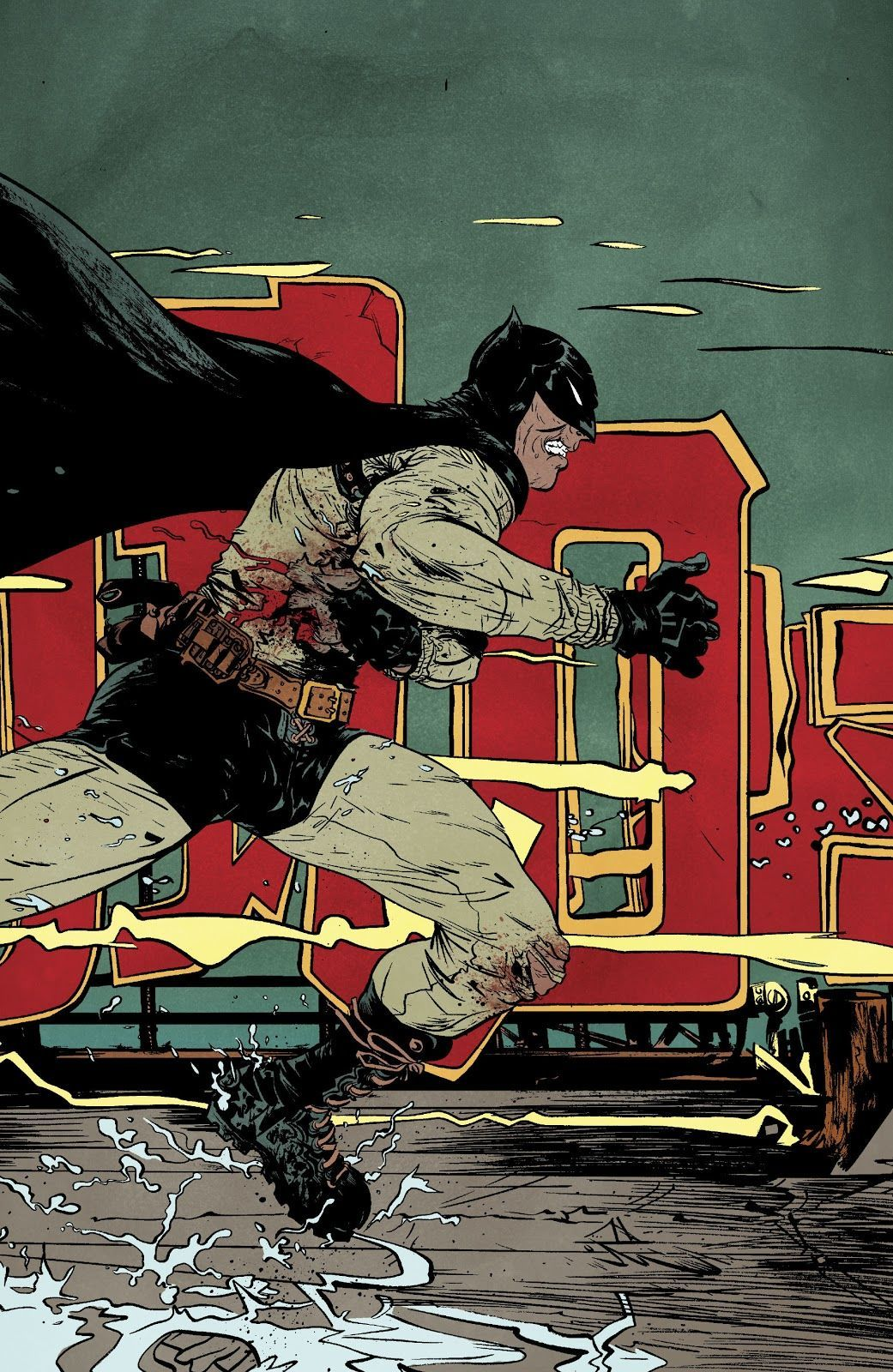 Batman: Year 100 (Writer: Paul Pope, Artists: Paul Pope)