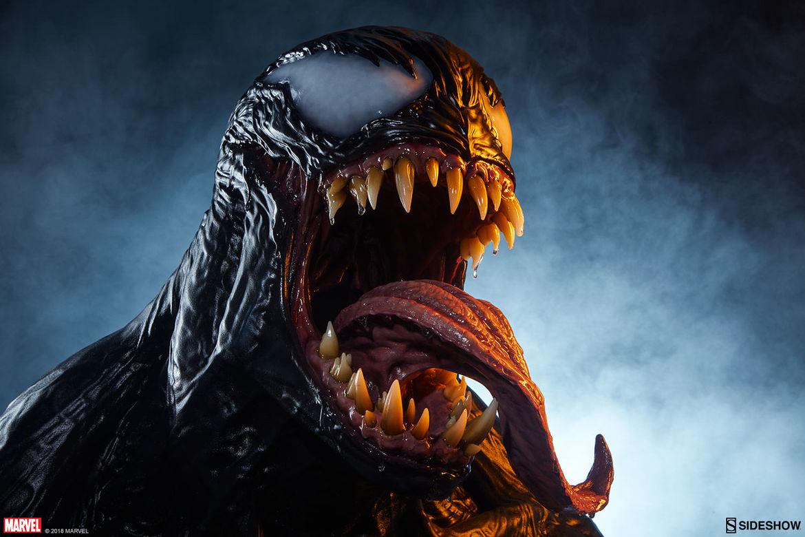 sideshow collectibles venom life size bust