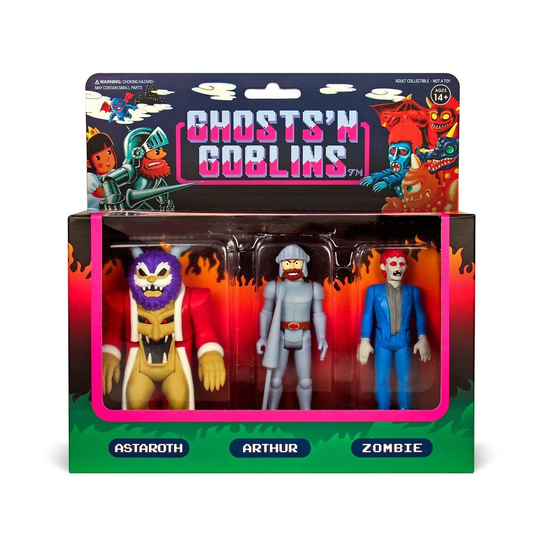 super7 ghosts n goblins reaction figures