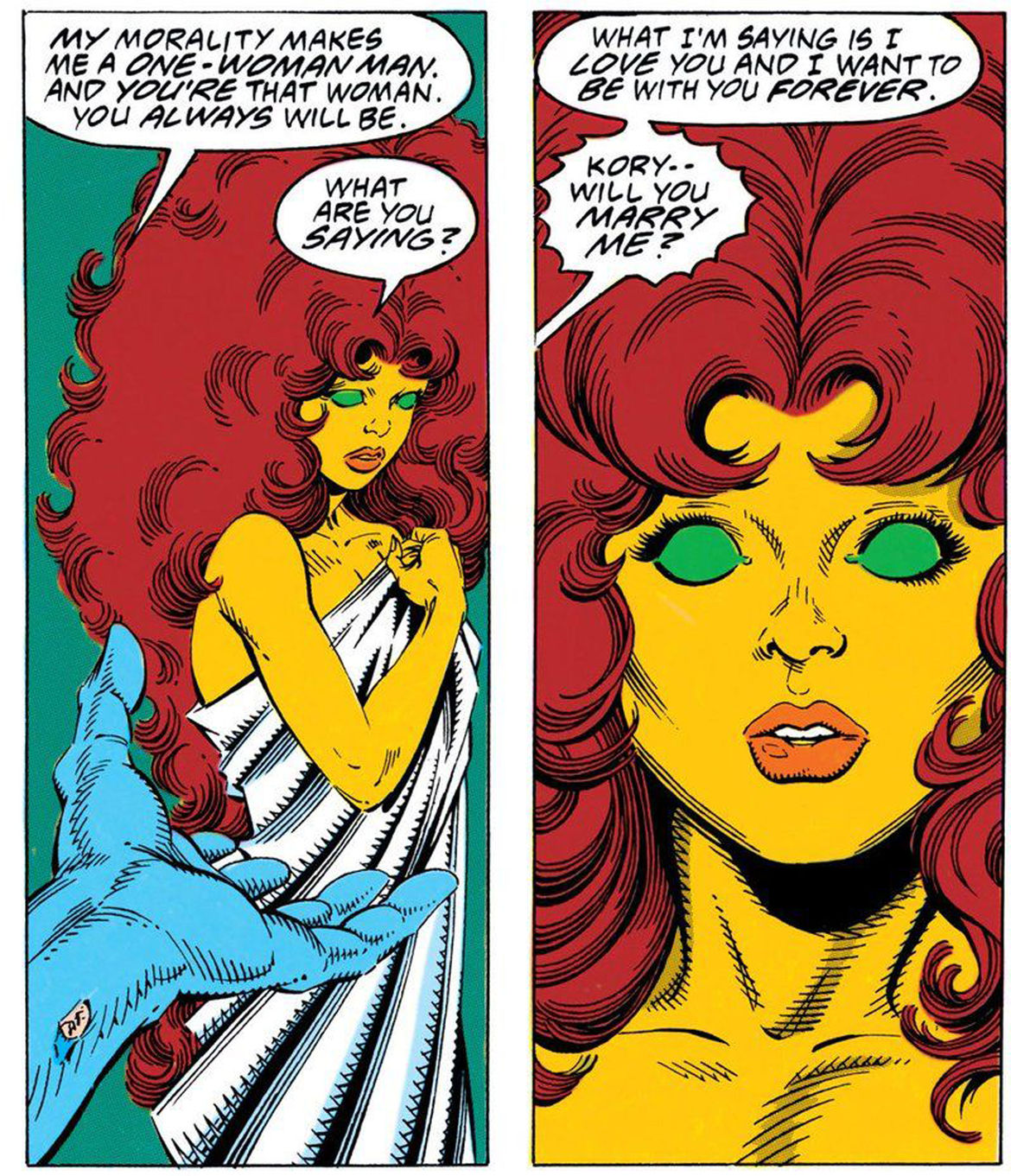 Why Starfire's polyamory matters   SYFY WIRE