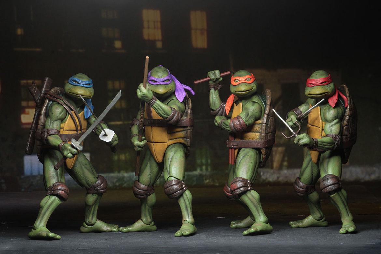neca teenage mutant ninja turtles figures