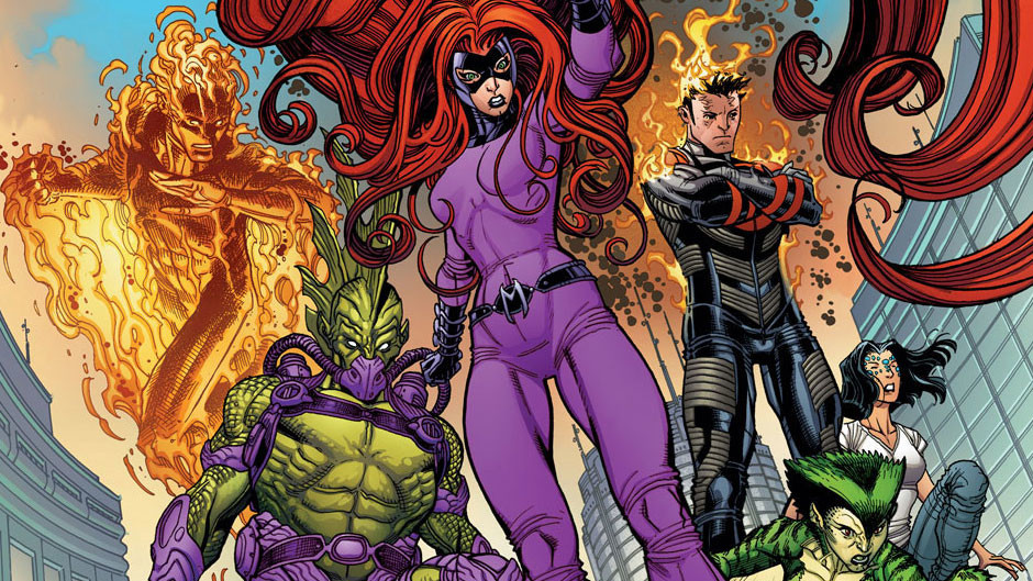 The new Inhumans