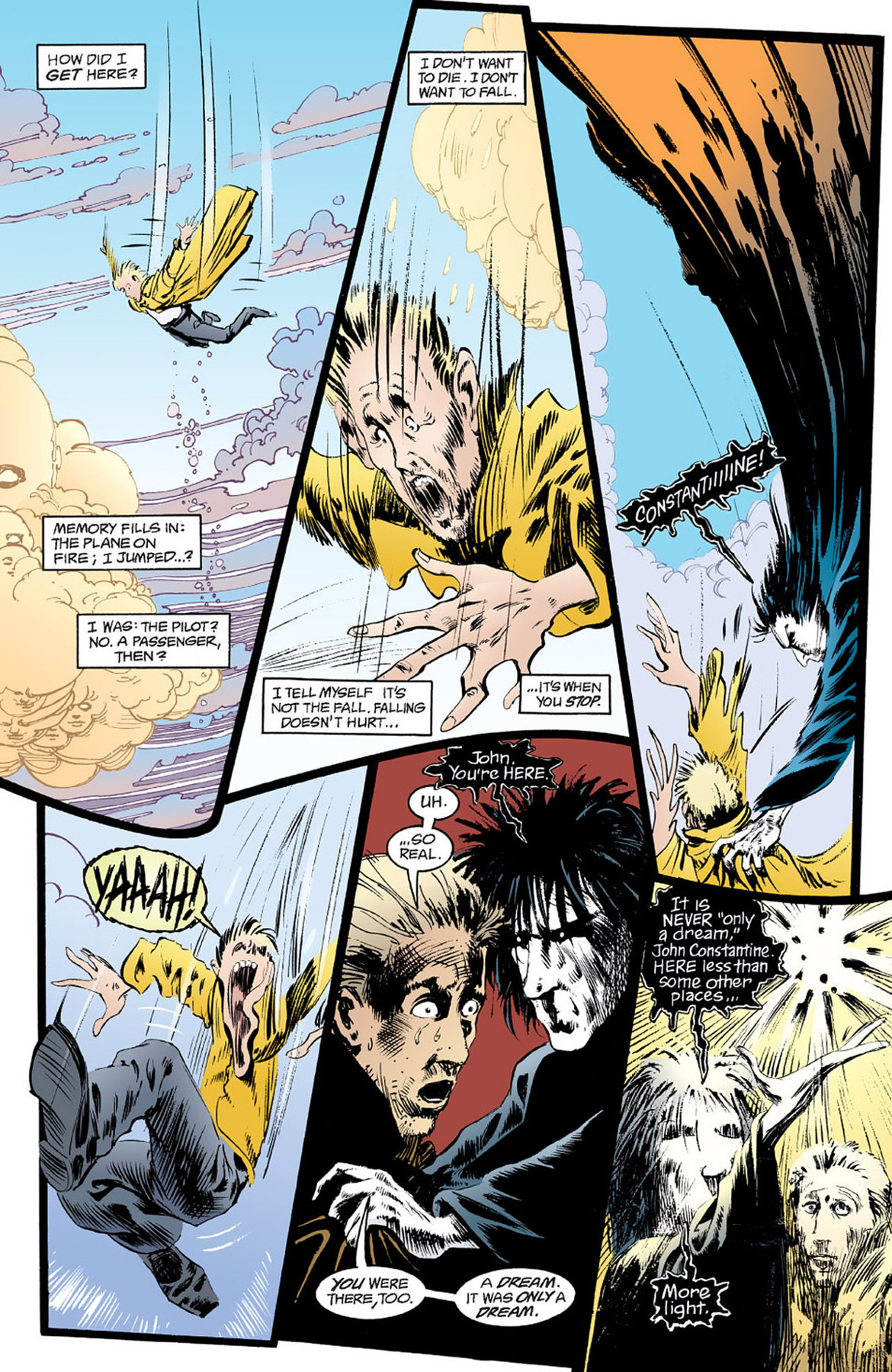 John Constantine and Sandman #3