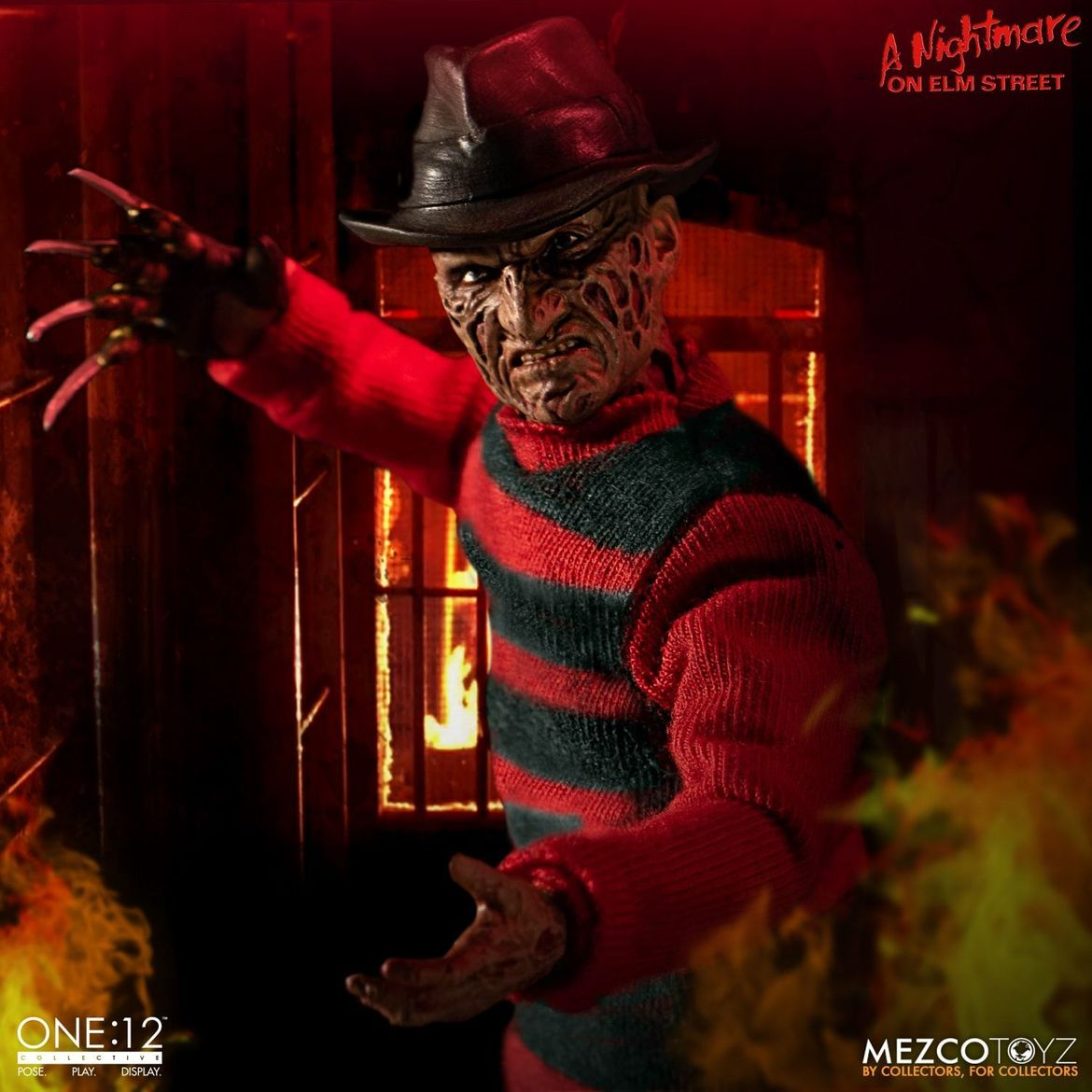 mezco one 12 collective nightmare on elm street freddy