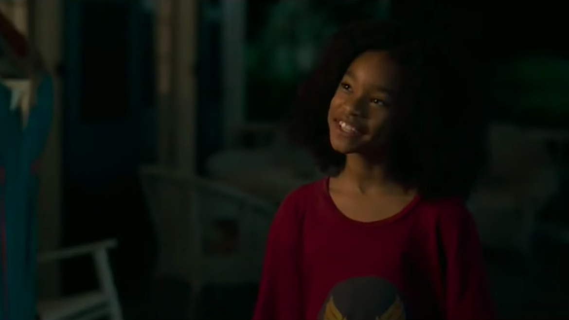 Akira Akbar plays Monica Rambeau in Captain Marvel