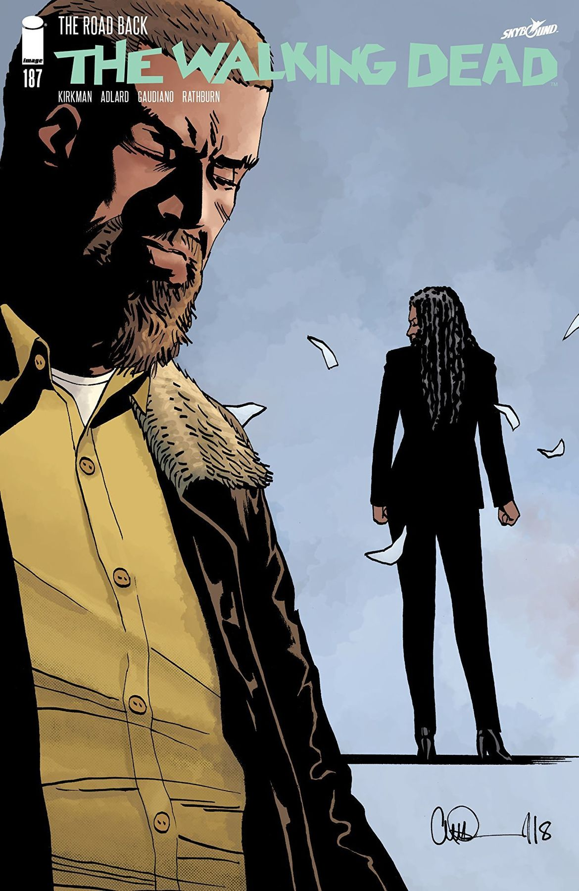 The Walking Dead Issue 187 Robert Kirkman