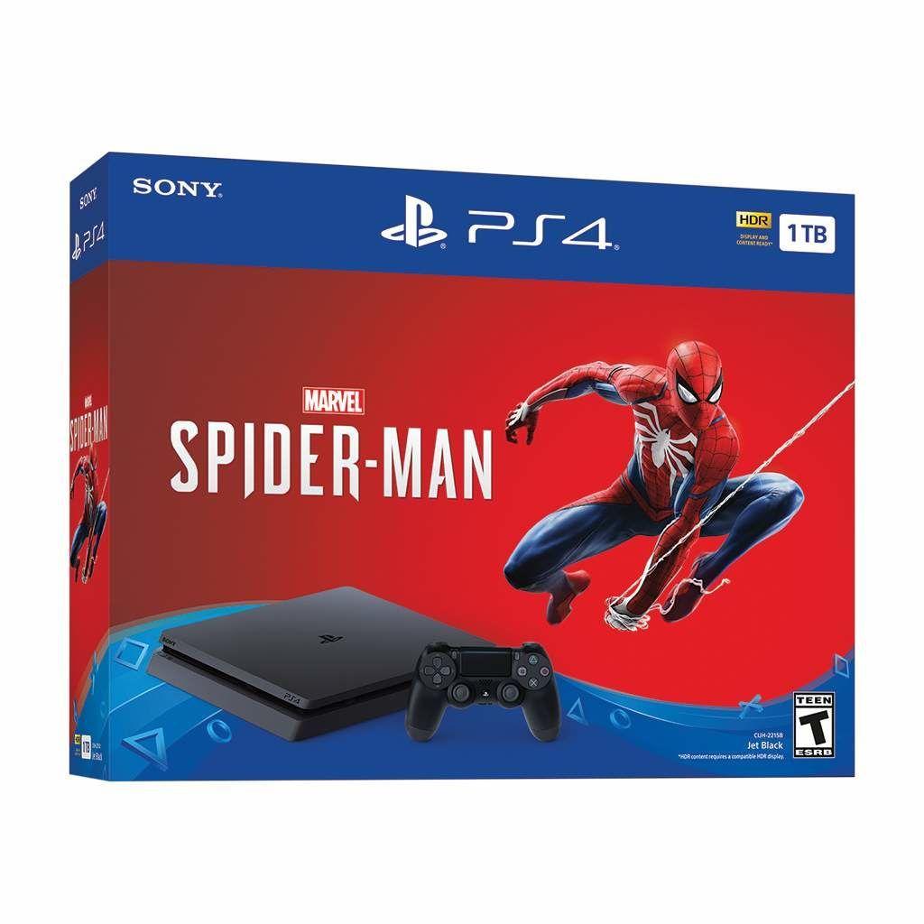 spider man ps4 bundle