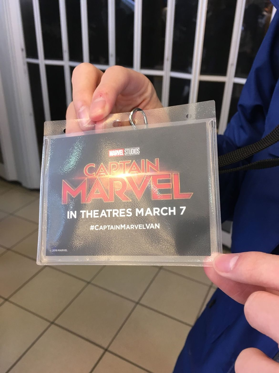 Captain Marvel video store
