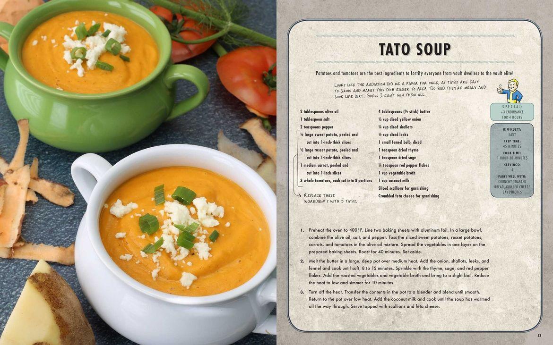 Tato Soup recipe