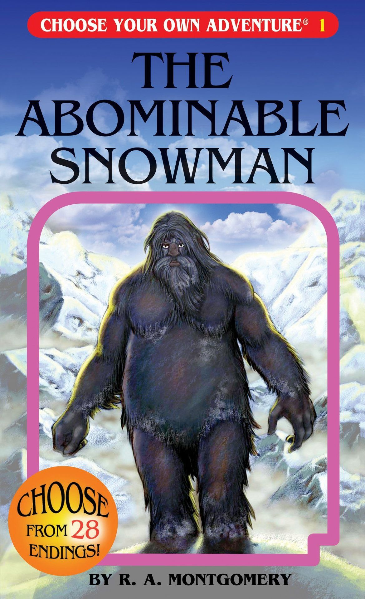 The Abominable Snowman Choose Your Own Adventure