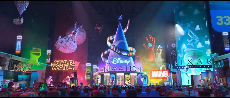 RalphBreaksTheInternet's many, many @Disney Easter eggs and