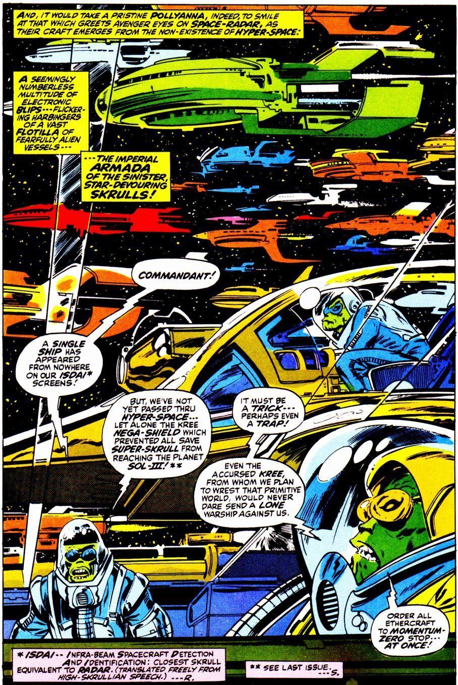 Avengers #96 (Written by Roy Thomas, Art by Neal Adams)