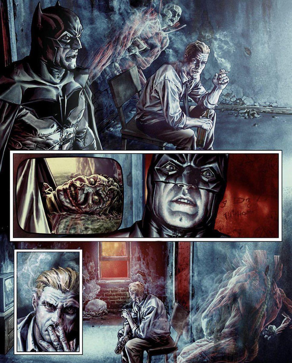 Batman: Damned - Interior- Constantine andDeadman
