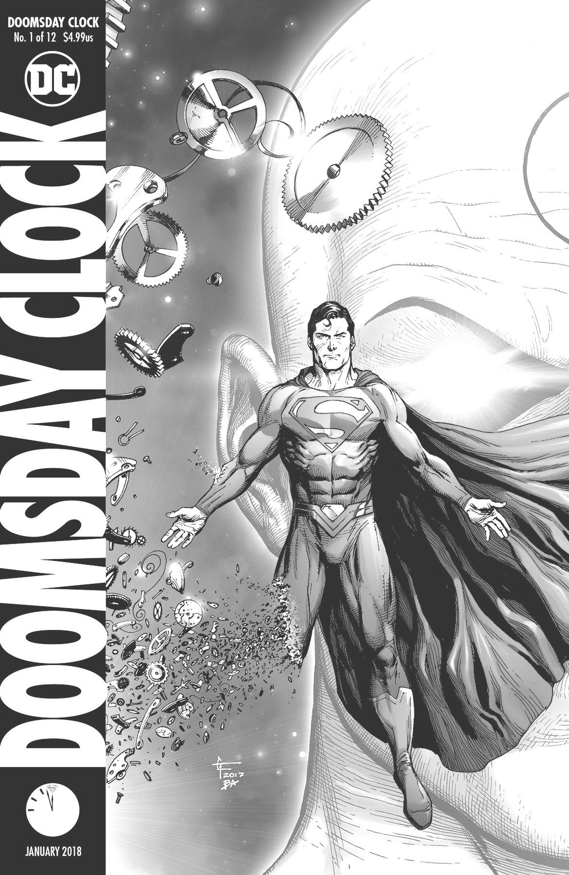 Dc Is Appropriately Dropping Doomsday Clock 1 At Three Minutes To