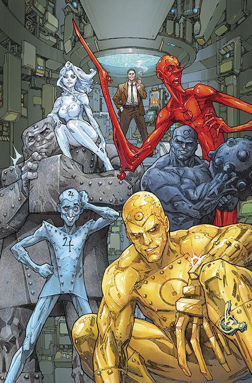 OF 12 DC COMICS METAL MEN #1 COVER A