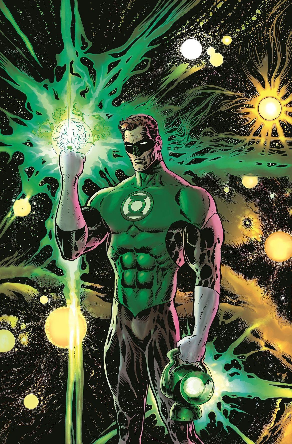 The Green Lantern #1 Cover