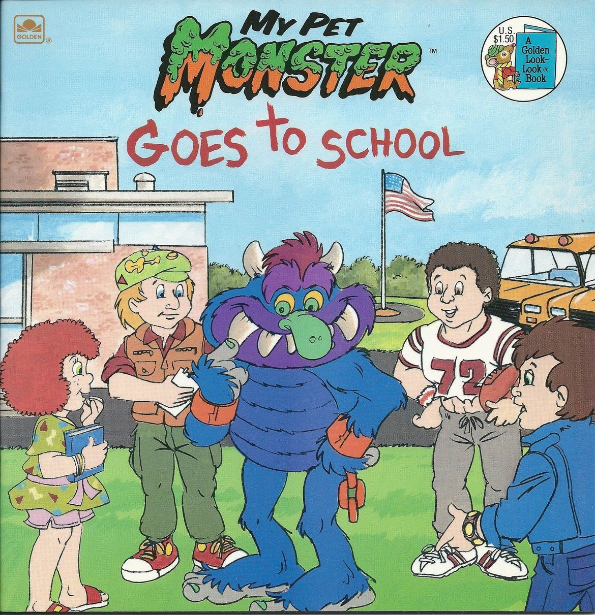 My Pet Monster Goes to School (1988)