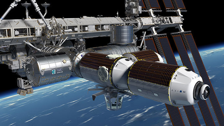 Axiom Space commercial space station concept
