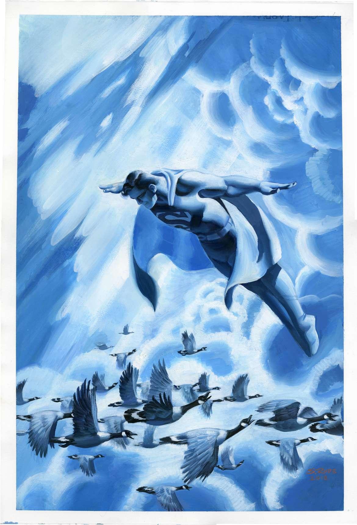 Action Comics 1004 Steve Rude Unlettered