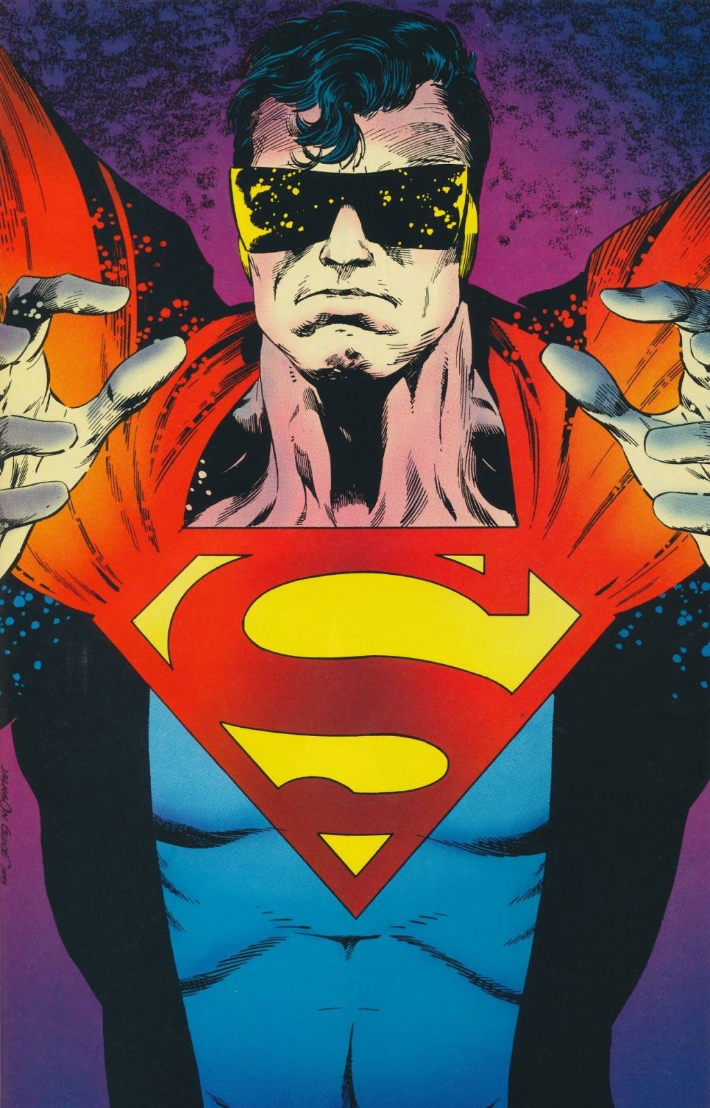 Action Comics #687 (Written by Roger Stern, Art by Jackson Guice and Denis Rodier)