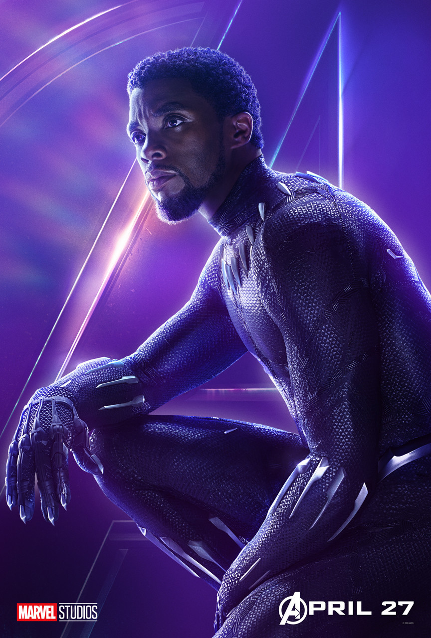 Avengers: Infinity War poster - Black Panther