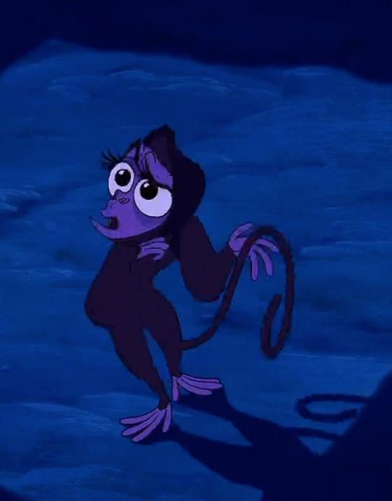 Aladdin_Abu as Jasmine