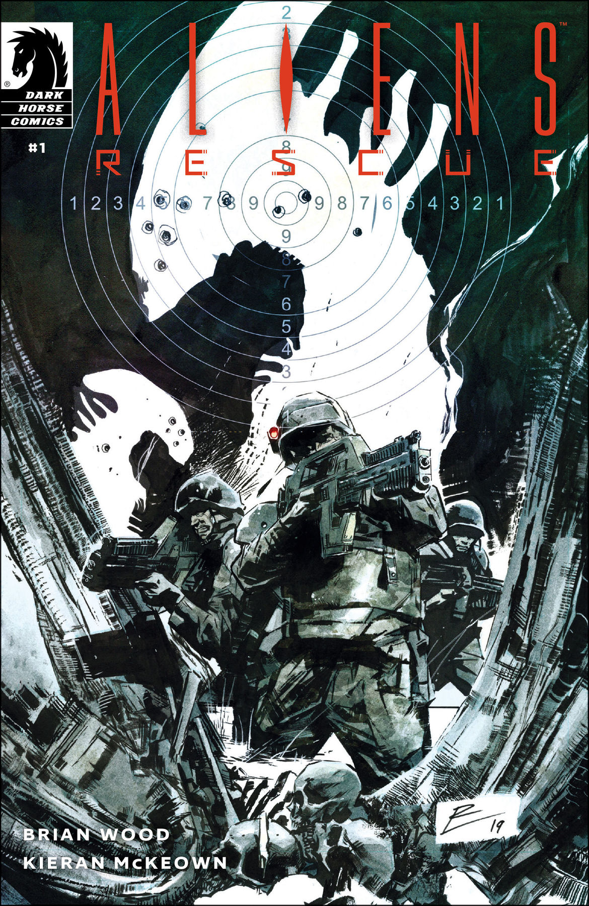 Aliens Rescue #1 Cover