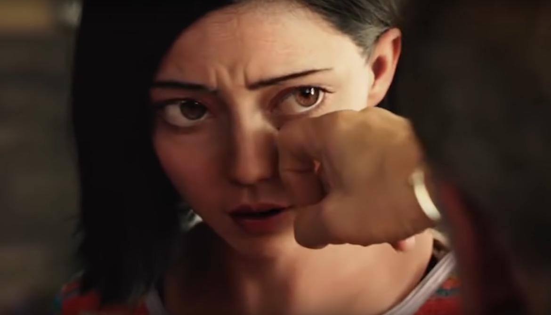 Alita Battle Angel Alternate Eyes Trailer 1