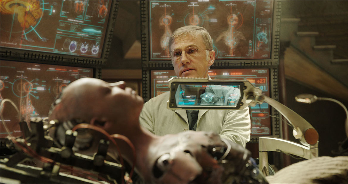 Alita Battle Angel Christoph Waltz