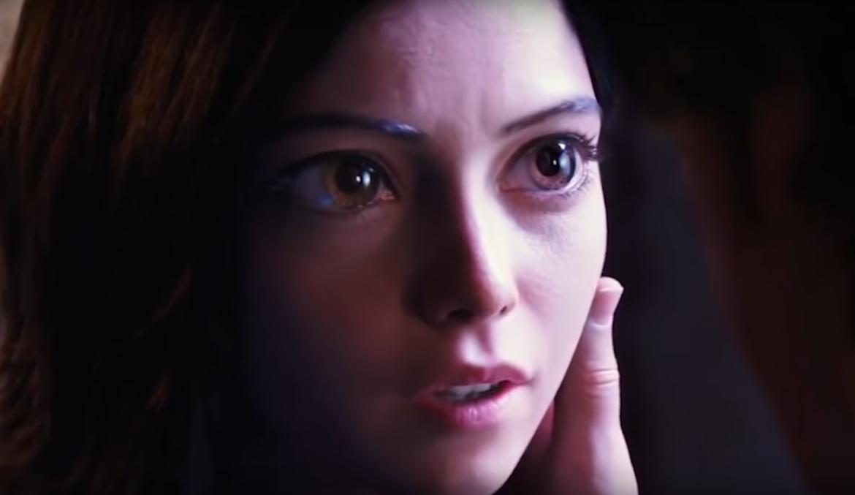 Alita Battle Angel Eyes trailer 2-2