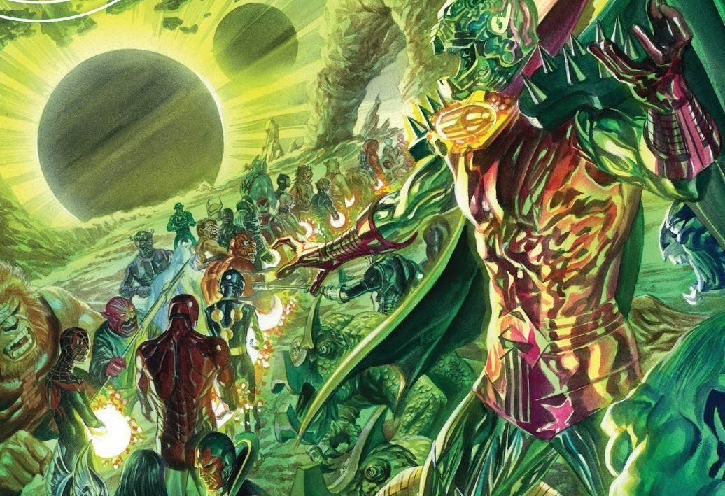 Cover to All New, All Different Avengers #11 by Alex Ross