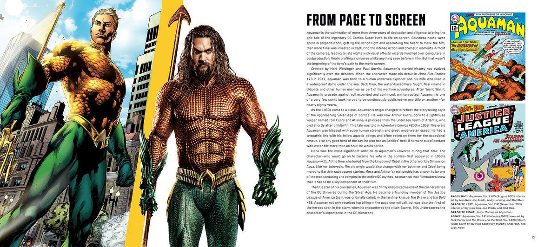 The Art and Making of Aquaman interior